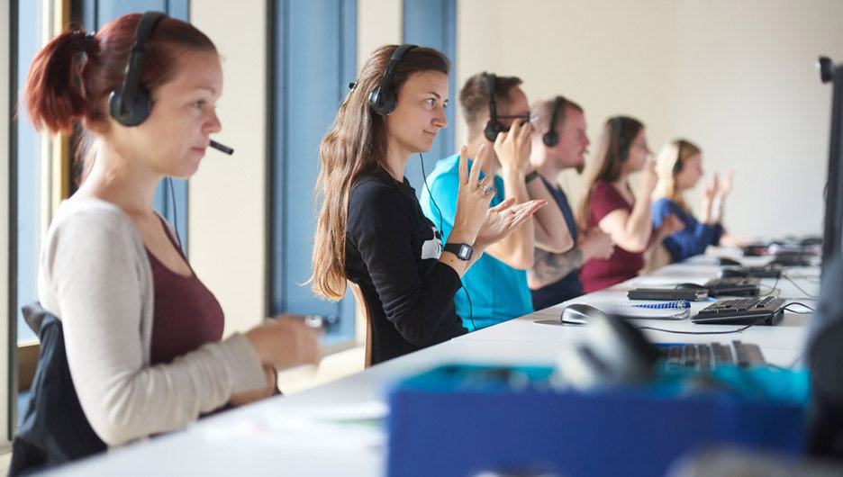 A wide range of subjects – Saxony also offers unusual courses such as sign language interpreting!