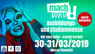 Pack dein Studium auf der Messe mach was! in Chemnitz